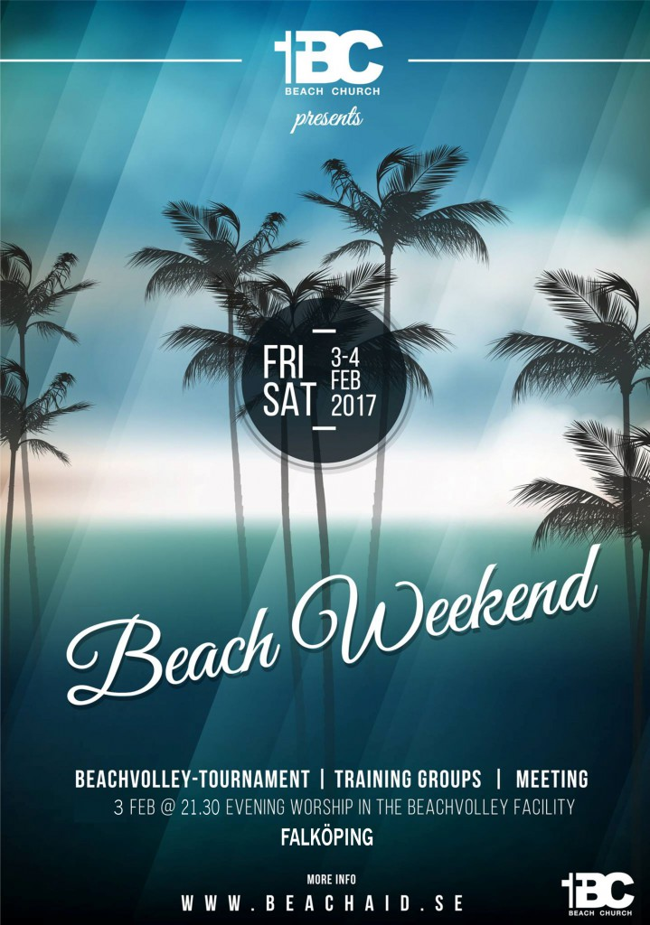 BEACHWEEKEND 2016 UPPDAT
